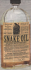 Snake Oil in a Bottle!