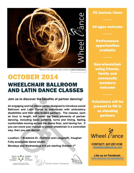 Wheel Dance Flyer