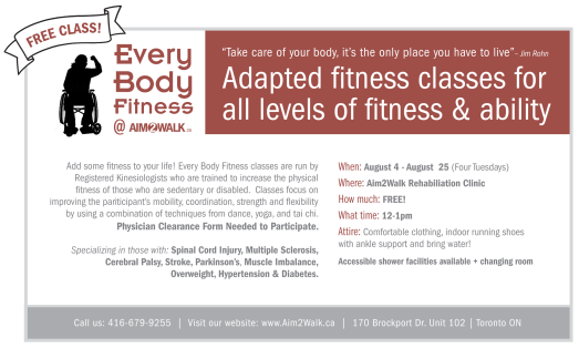 Free Fitness Class